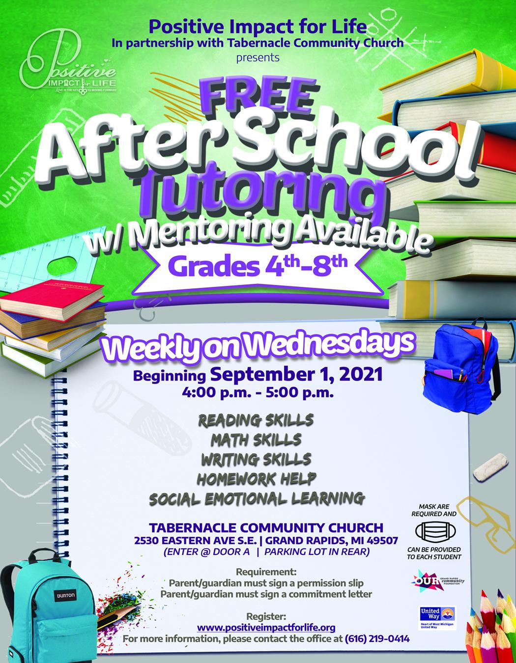Mentoring & Tutoring Wednesdays