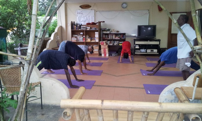 Weekly Yoga Class, Open Discussion and Breakfast