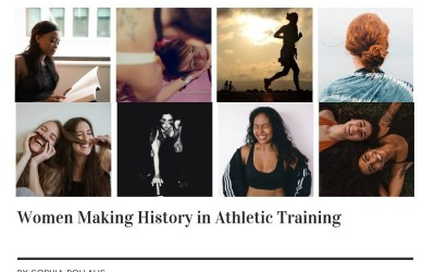 Women Making History in Athletic Training