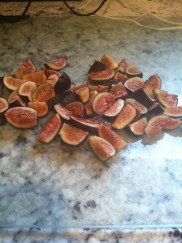 Diced figs