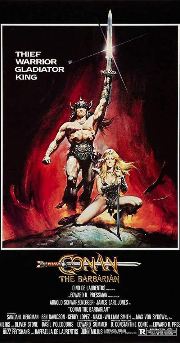 Conan the barbarian poster blog