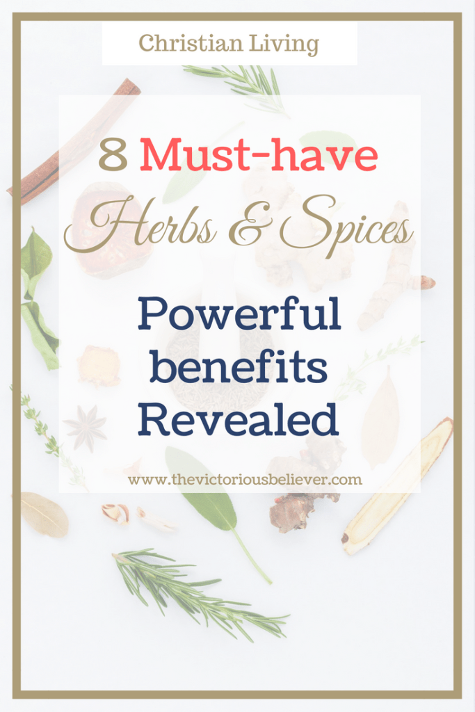 Powerful health benefits of herbs and spices