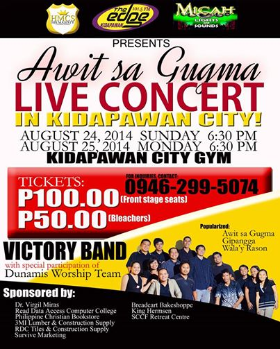 Victory Band Concert Poster