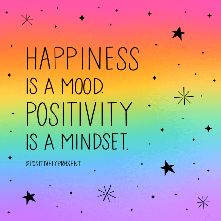 happiness vs positivity what