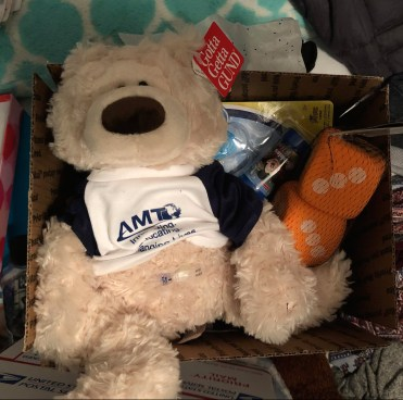 thank you AMT for the tubie bears!! what an incredible donation, I'm humbled and overjoyed.