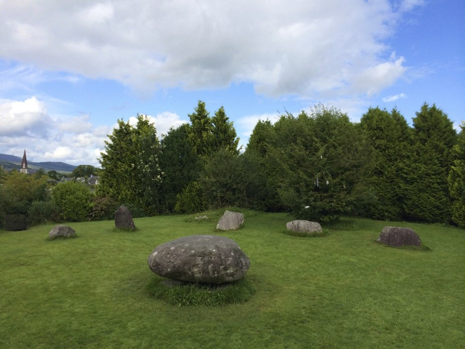 Ancient stone circle in Kenmare.