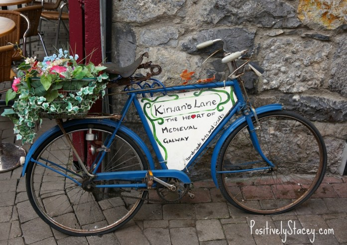 Sight in the Latin Quarter, Galway