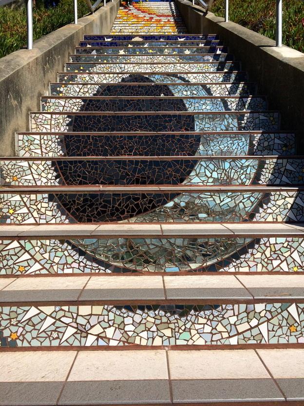 1th Avneue Tiled Steps is San Francisco