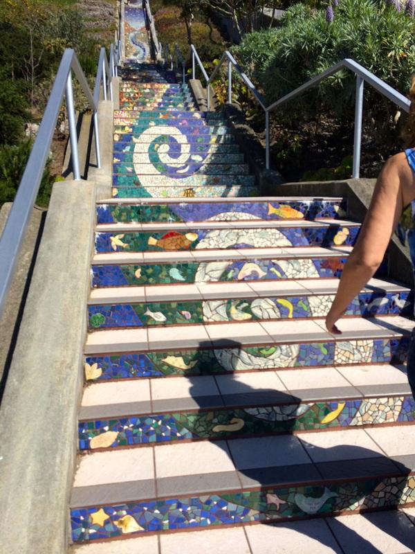 16th Avenue Steps in San Francisco