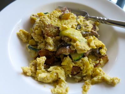 Budget Meal Planning Egg Scramble