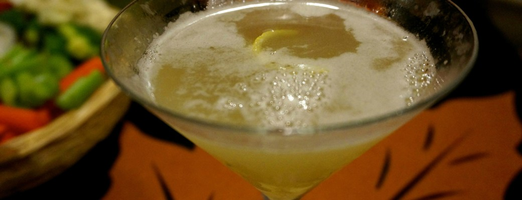 Ginger Pear Martinis