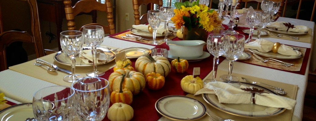 A Thanksgiving Day Table