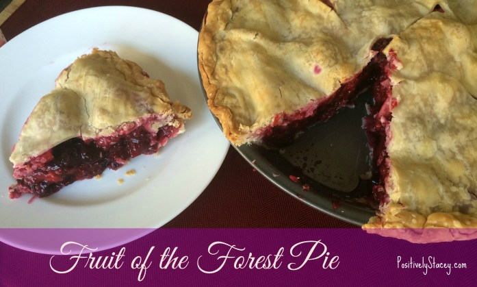 Fruit of the forest pie Stacey