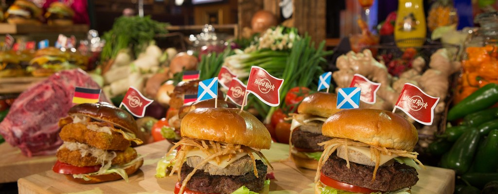 Celebrating National Burger Month with Hard Rock Cafe's World Burger Tour