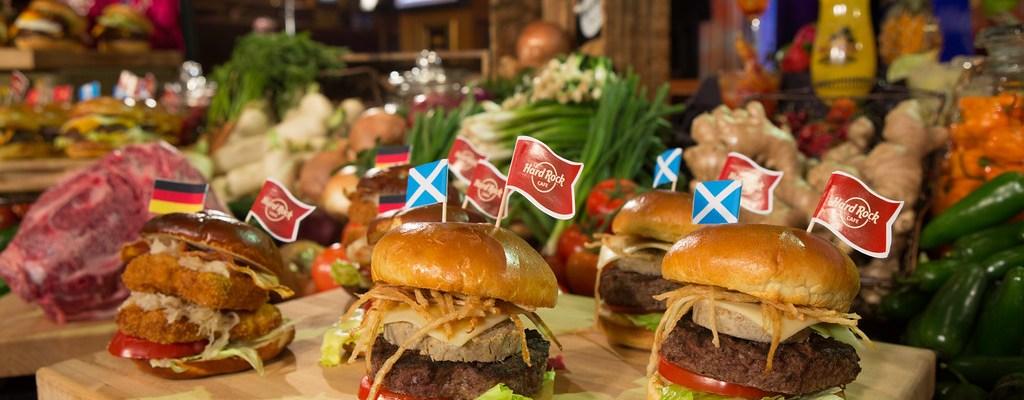 Celebrating National Burger Month with Hard Rock Cafe's World Burger Tour