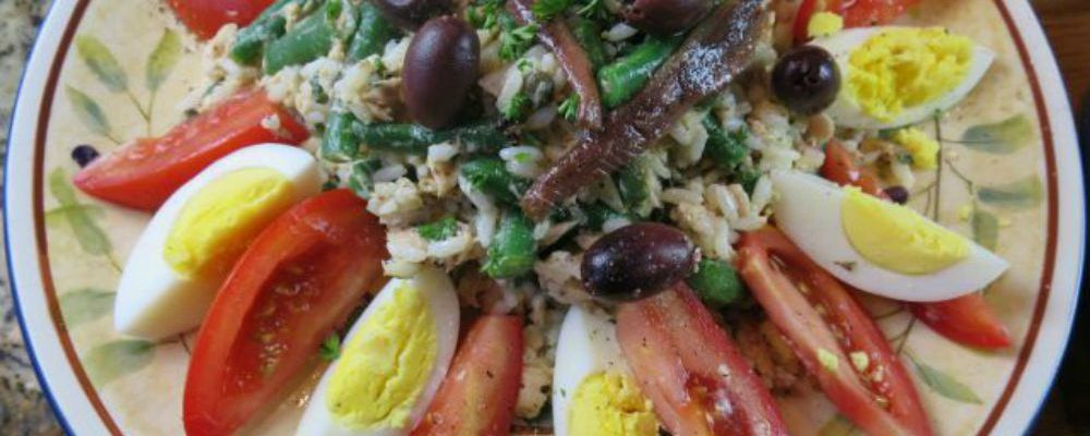Niçoise Rice Salad Recipe