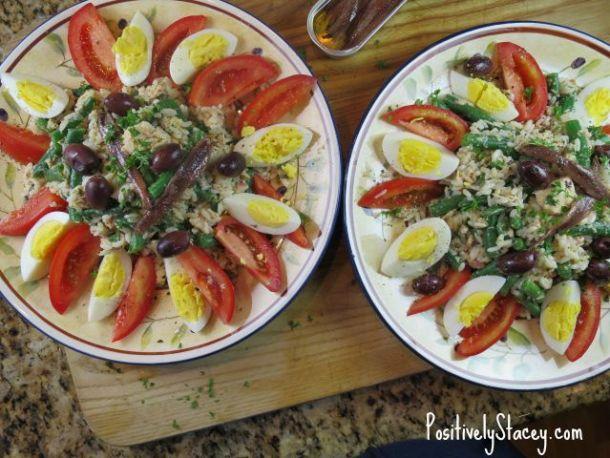 Rice Nicoise Salad