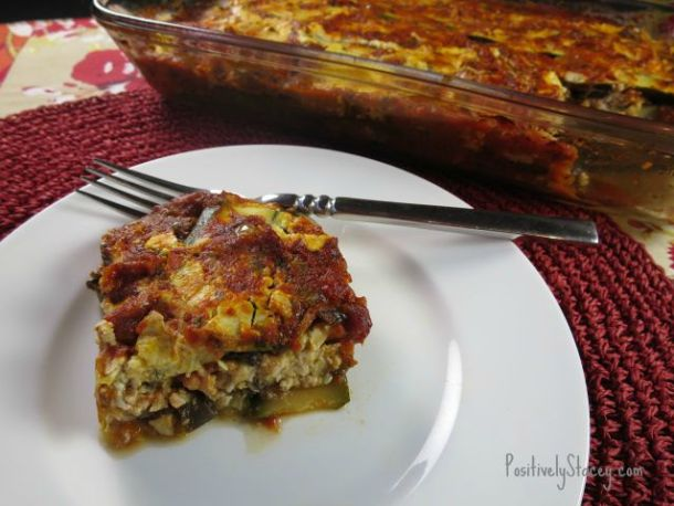 Zucchini Lasagna Serving
