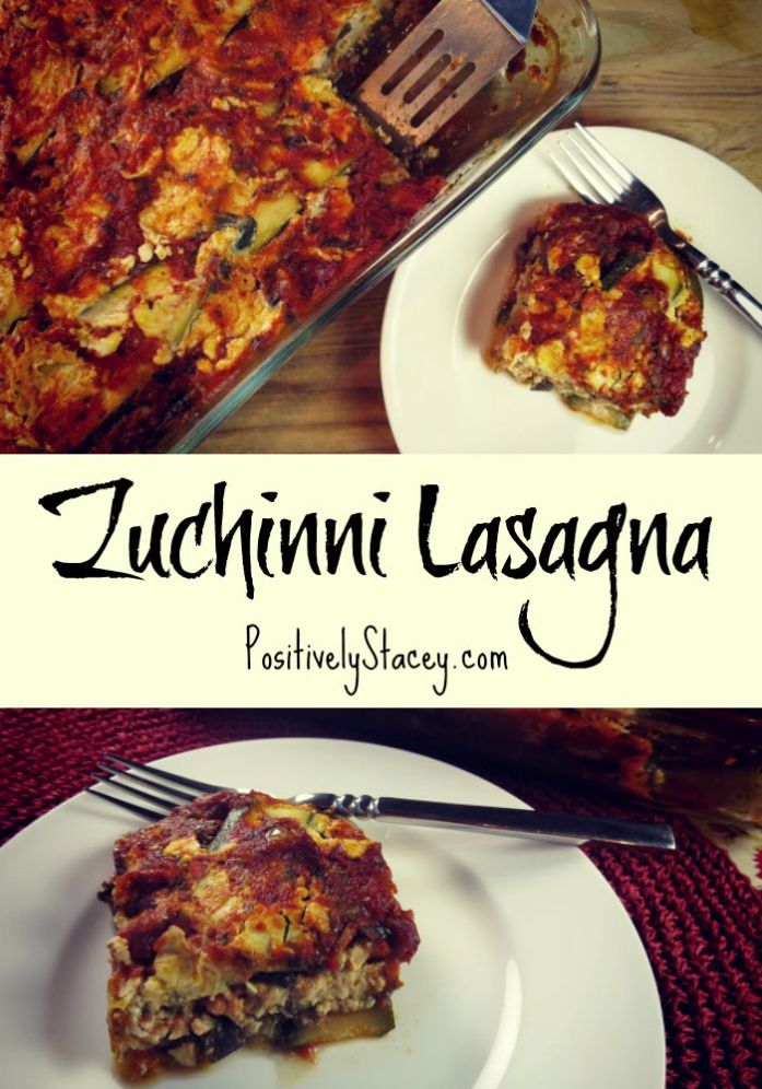 Zuchinni Lasagna - so yummy and absolutely delicious!