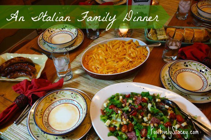 An Italian Family Dinner