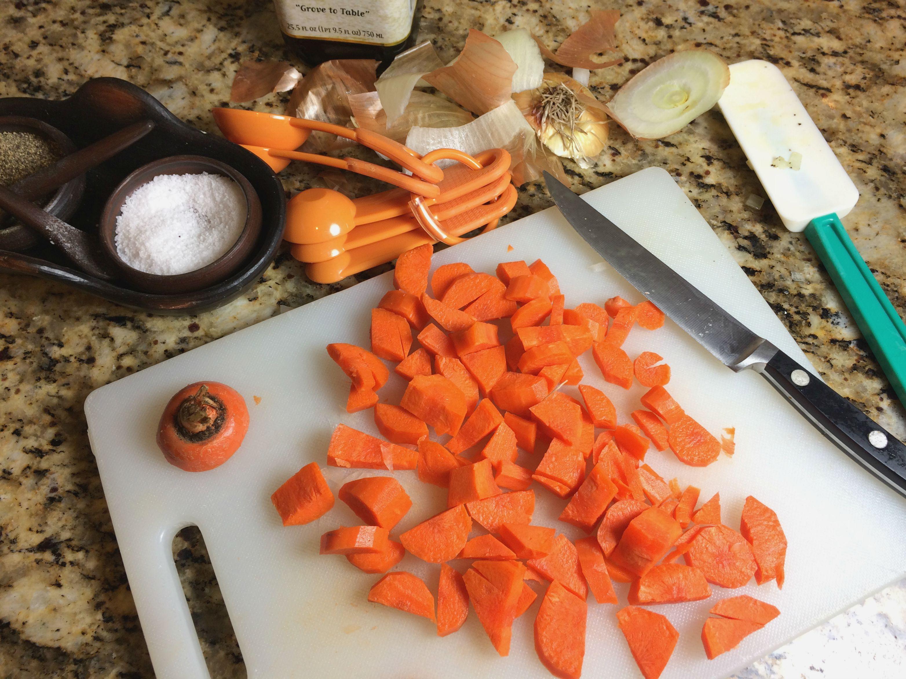 Chopped Carrots