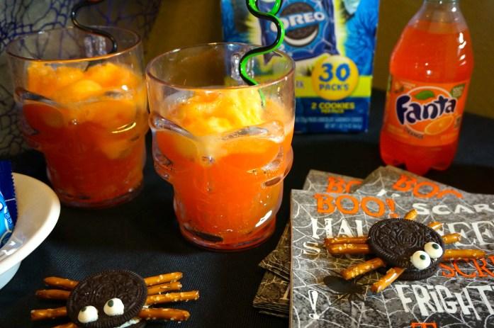 Fanta Brain Freeze Orange Floats #SppokySnacks