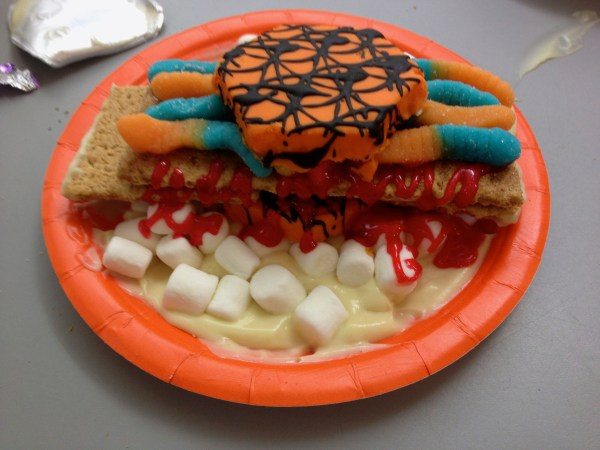 Edible Candy Sculptures for Halloween 6