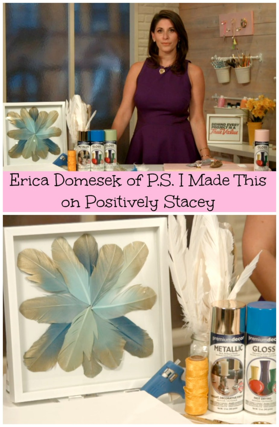 Let's get crafty with Erica Domesek!