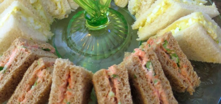Smoked Salmon, Cucumber, and Watercress Tea Sandwich Recipe