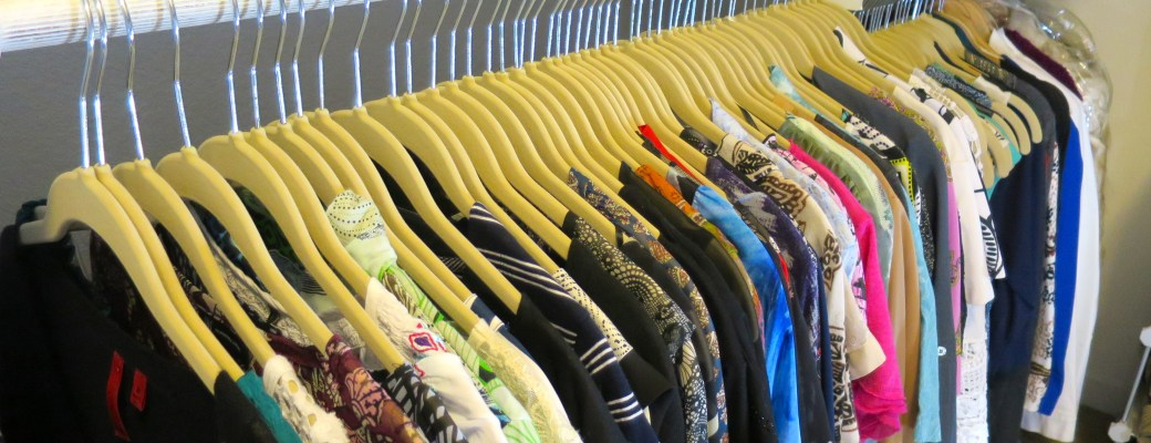 My Closet Re-Organization