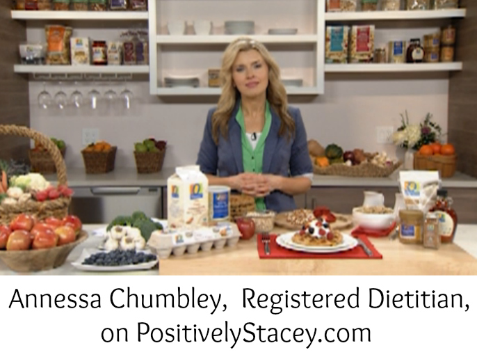Annessa Chumbley on Positively Stacey