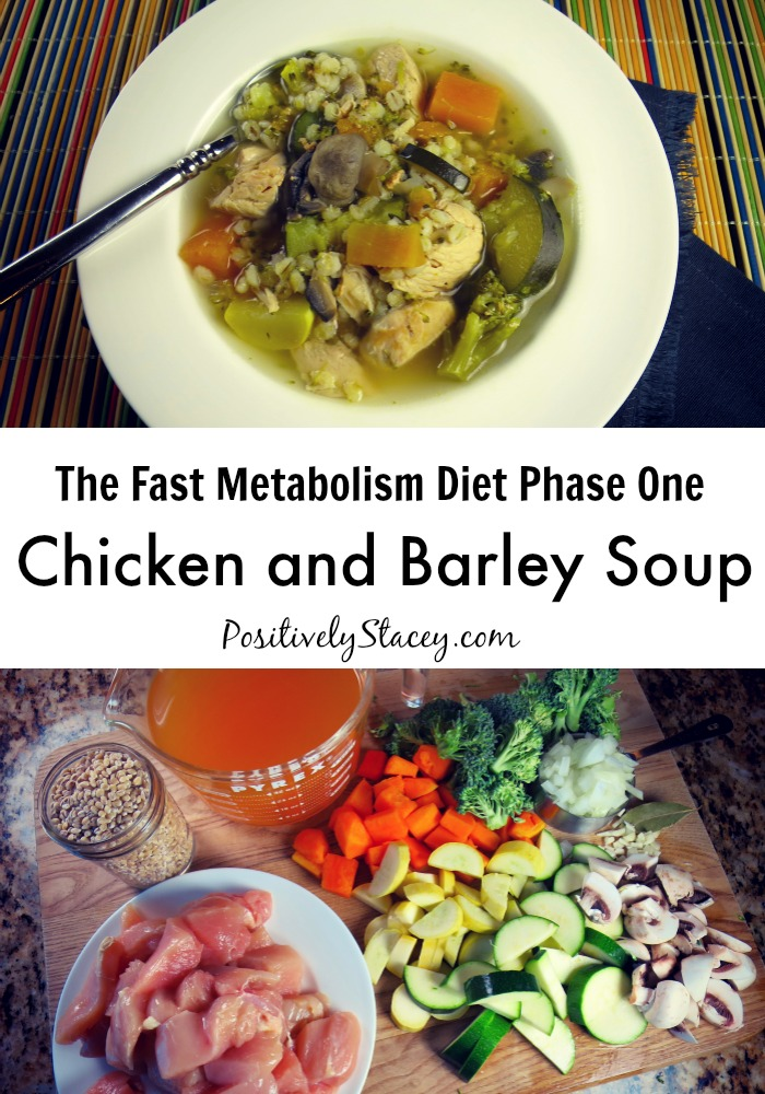 FMD Chicken and Barley Soup - This soup is full of healthy ingredients, is easy to put together, and my family loves it!