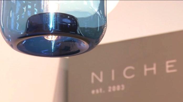 Architectural Digest Design Show Blue Light