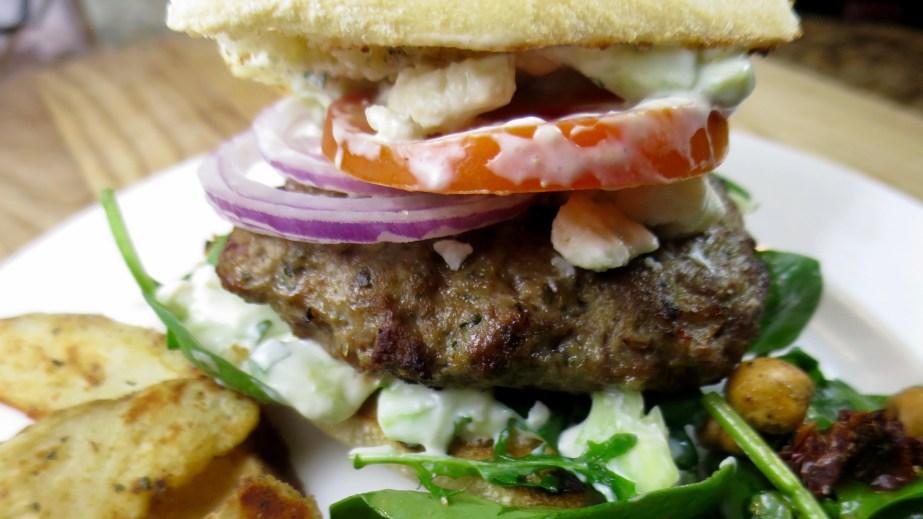 Greek Lamb Burgers #SundaySupper