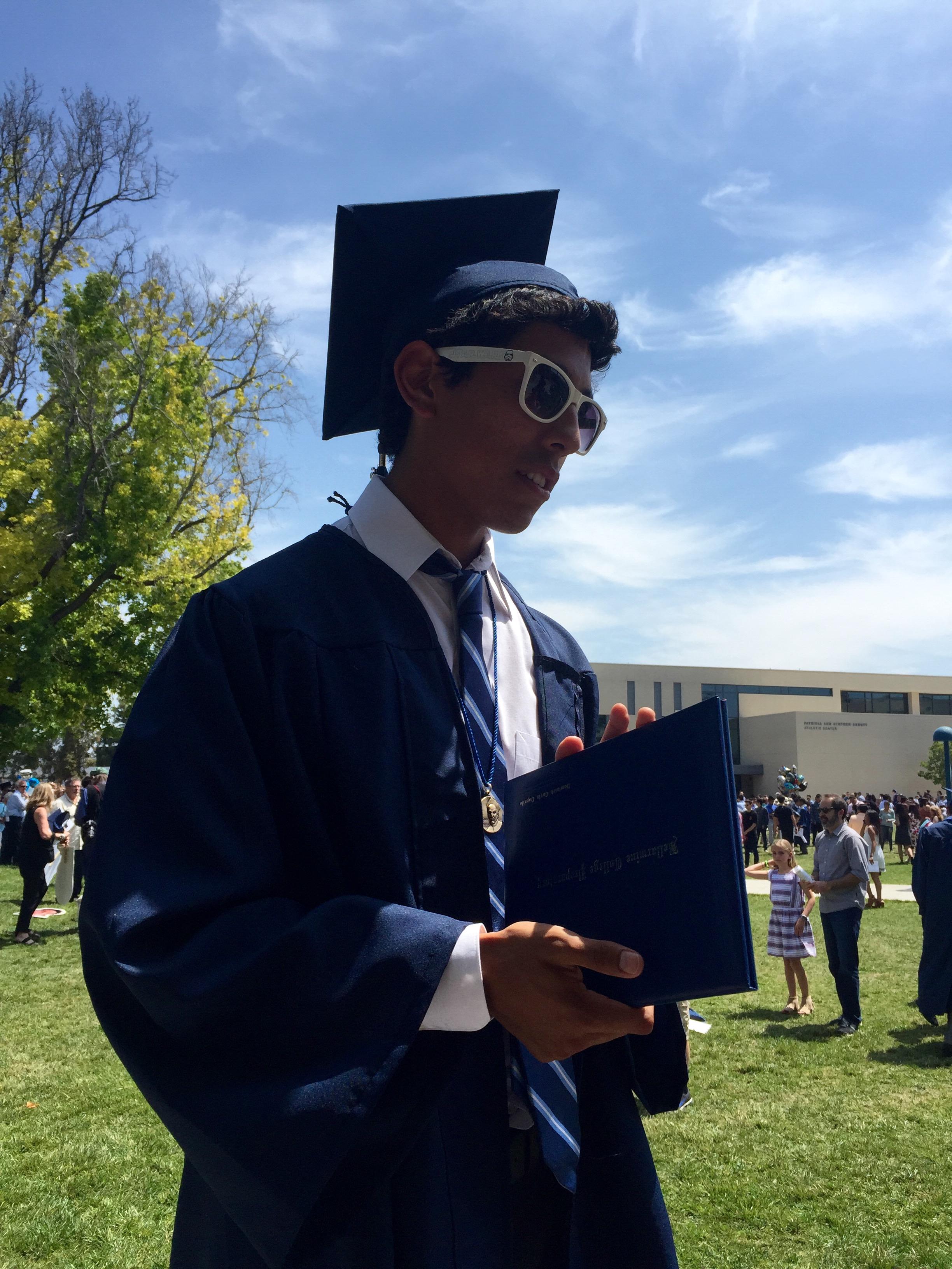 Dominick Graduation Bellarmine