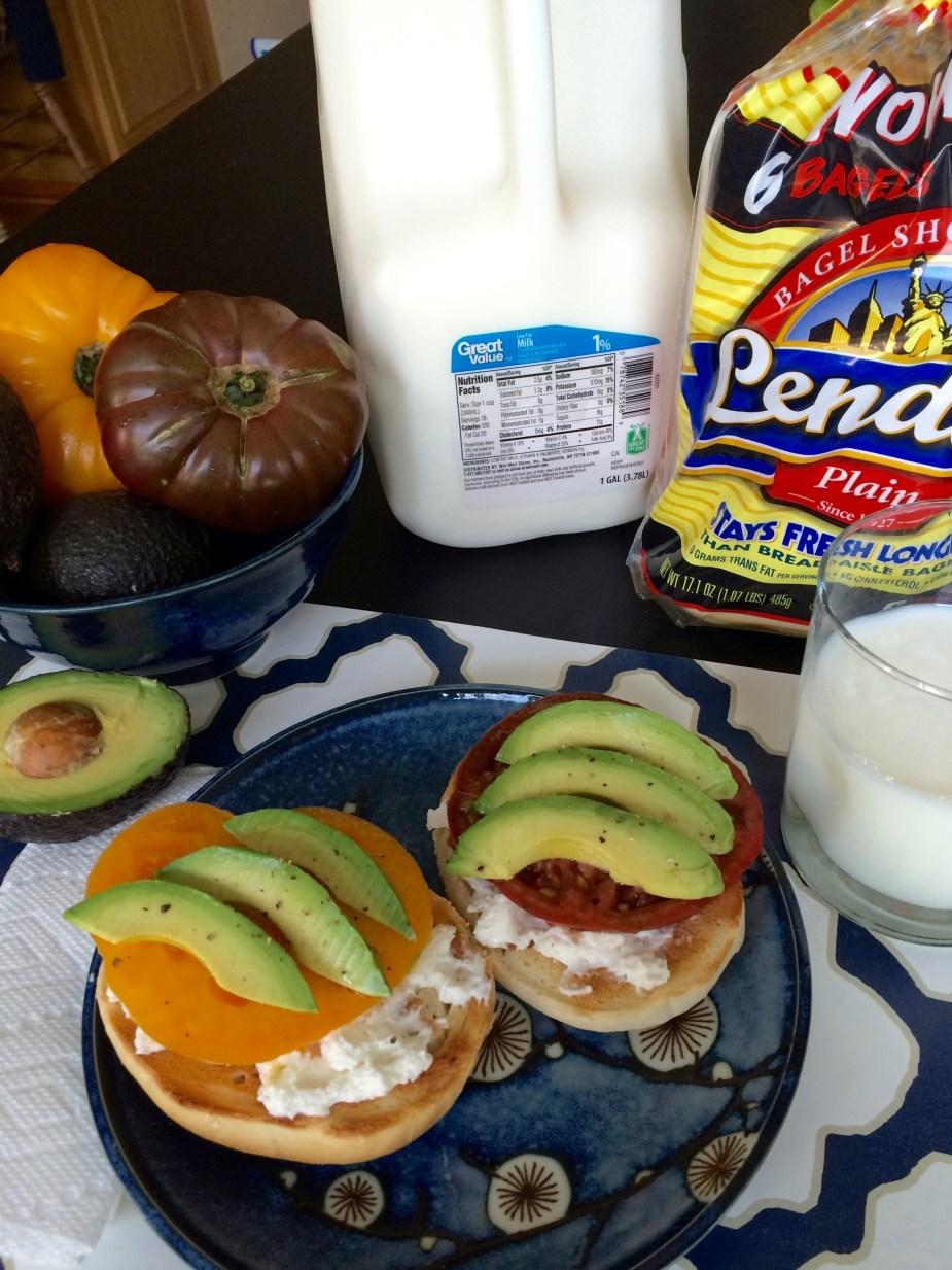 #BetterBreakfast Lender's bagels