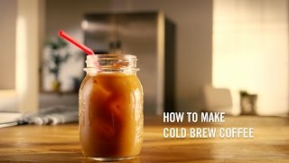 Cold brew coffee folgers