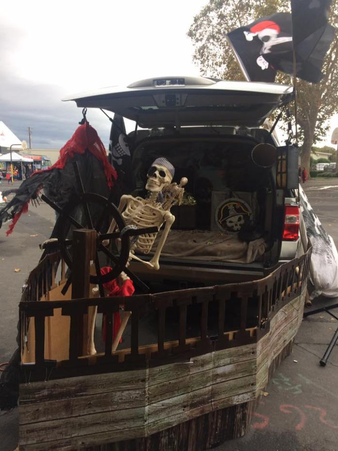 Trunk or Treat Pirate Ship