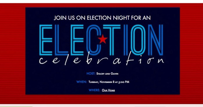 Planning an Election Night Party