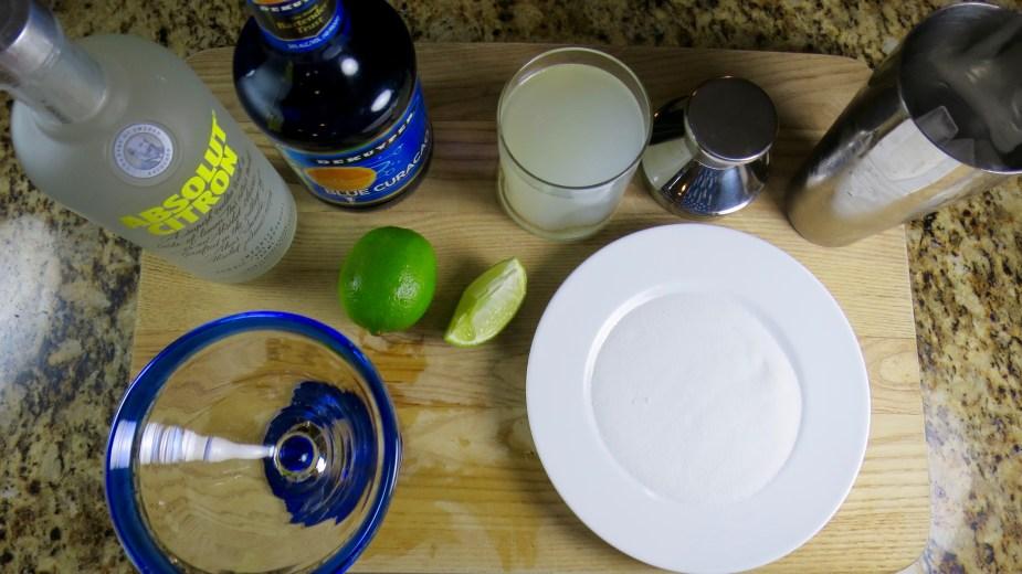Blue Lagoon Martini Recipe