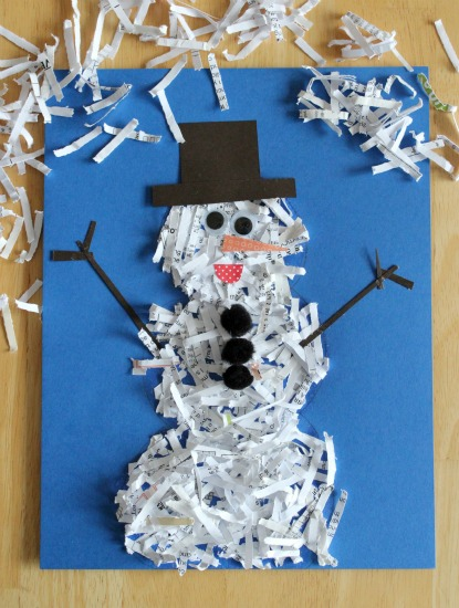 Glittered-Paper-Snowman