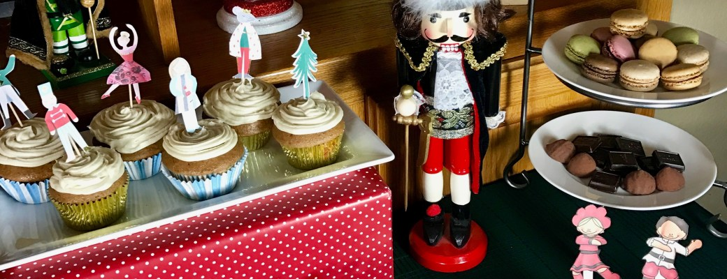 A Nutcracker Appetizer and Dessert Table