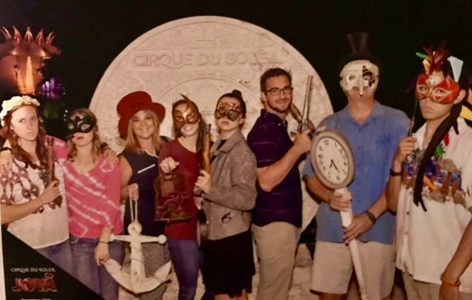 family cirque du soleil