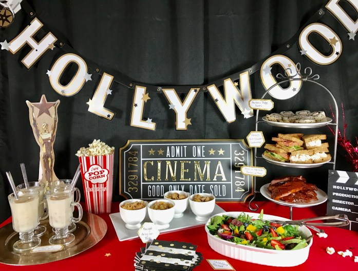 Oscars 2017 Best Picture Nominee Themed Party Menu