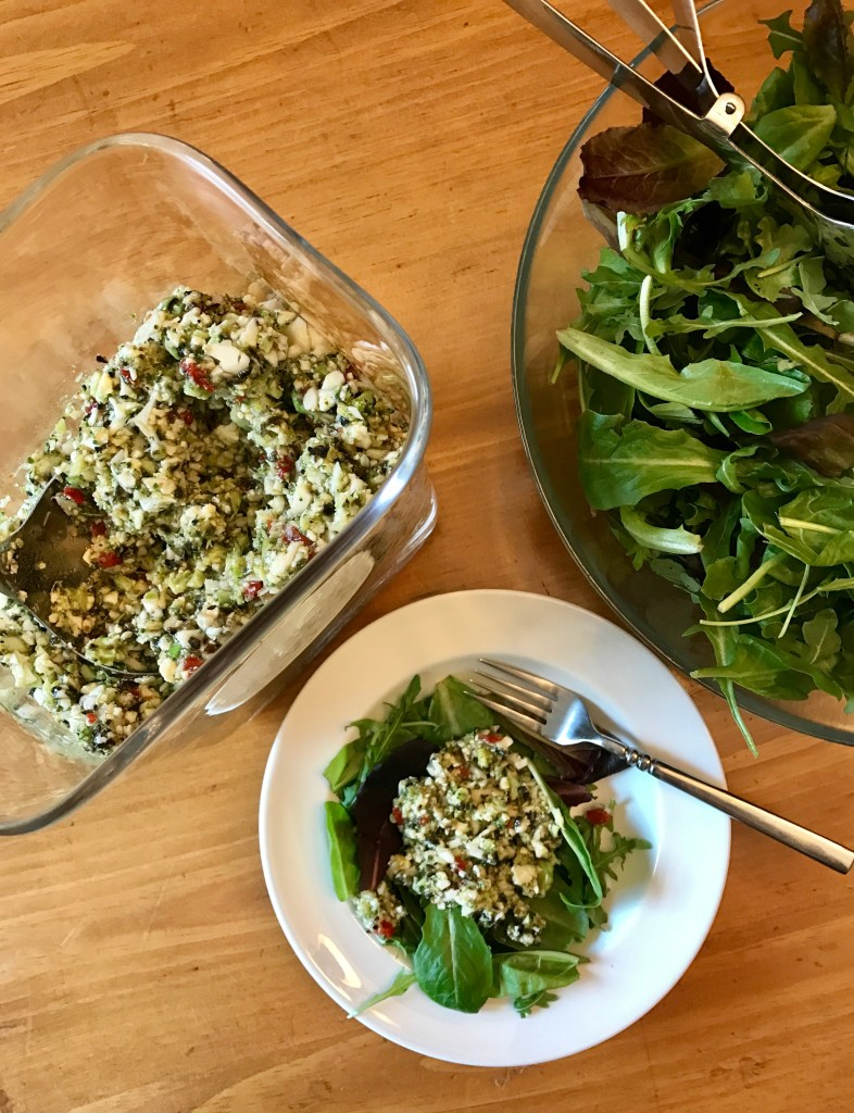 Chopped Veggie Salad Dressing Recipe