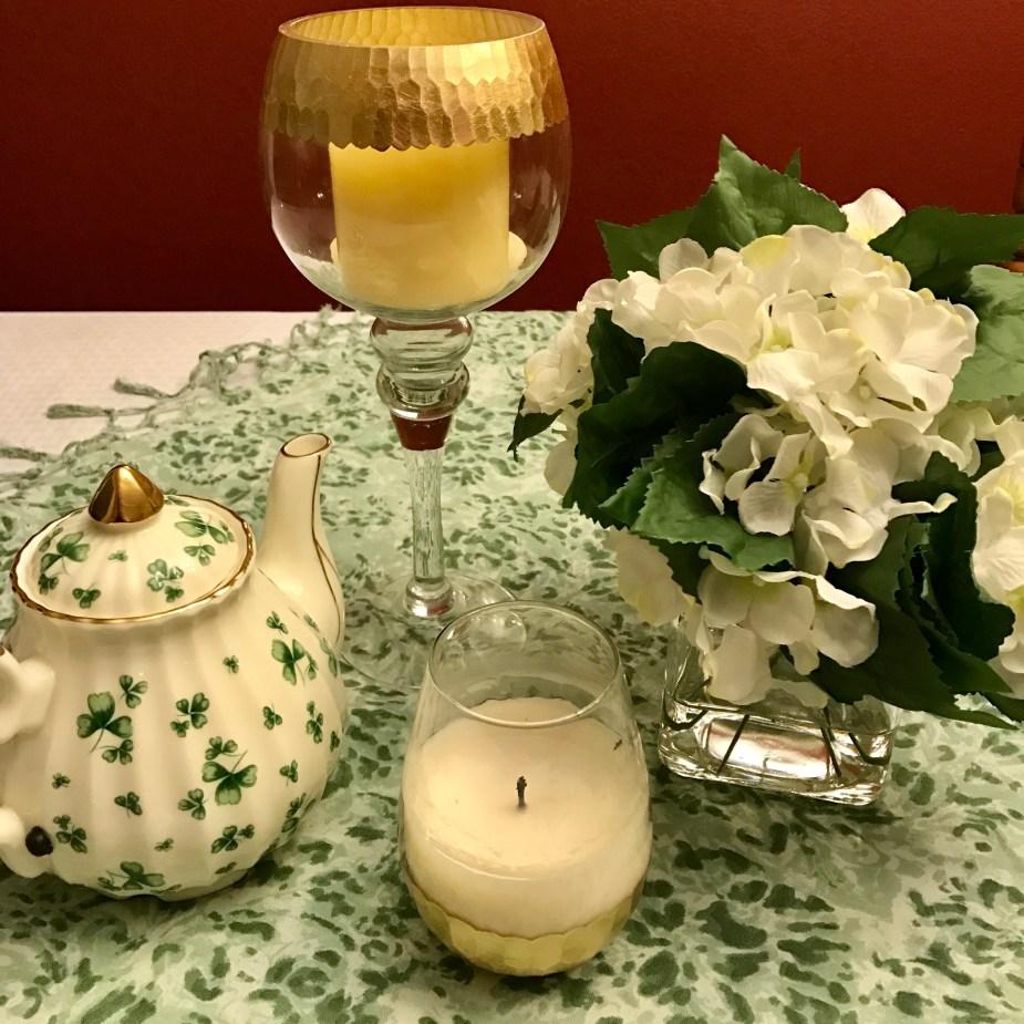 Saint Patrick's table