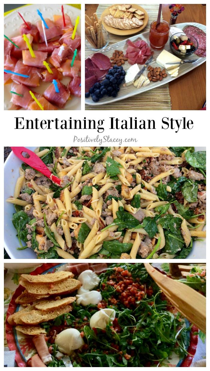 Entertaining Italian Style