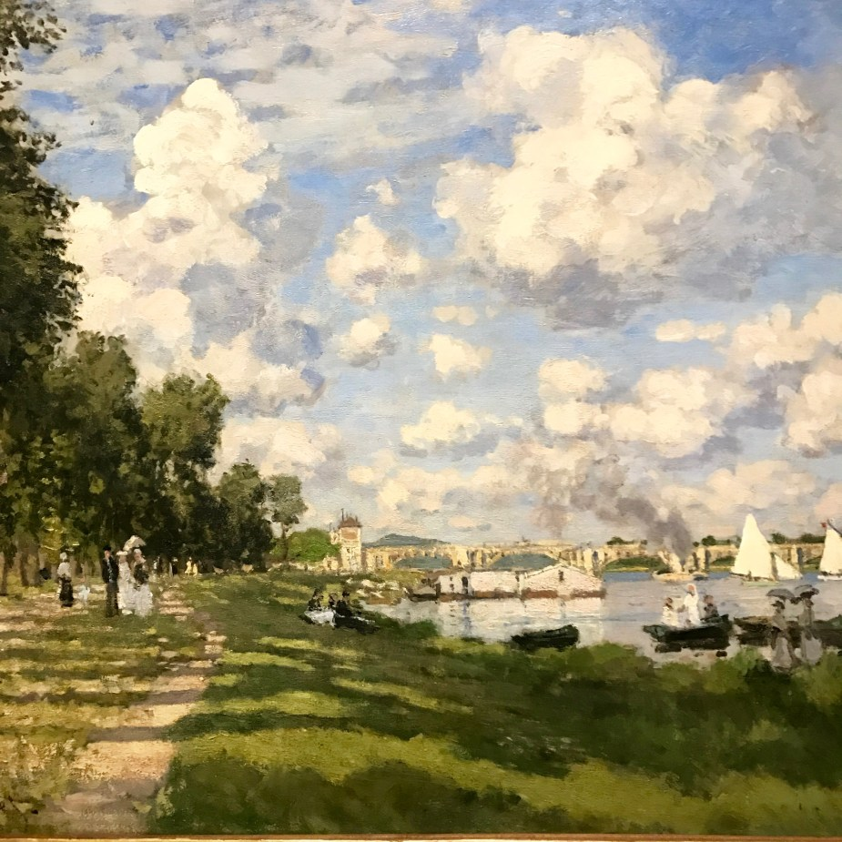 Monet the Early Years (the Port at Argenteuil 1872)
