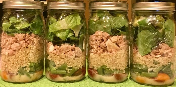 Niçoise Salad in a Jar Recipe