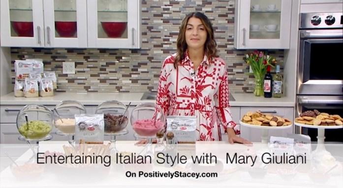 Entertaining Italian Style with Mary Giuliani